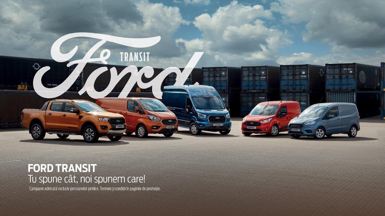 Oferte Ford Transit. Tu spune cat, noi spunem care!