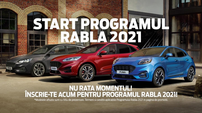 Ofertele Ford prin Programul RABLA 2021